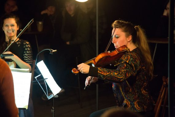 Manchester Collective Violinist Caroline Pether