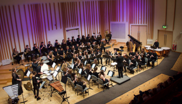 Australian Cameraygal Touring Band and the Manchester University Wind Orchestra